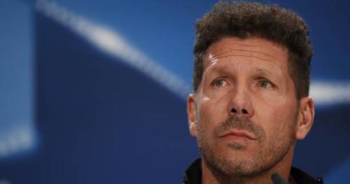 Foot - C1 - Atlético - Diego Simeone (Atlético) ne s'attend pas «à un score fleuve» contre Leicester