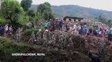 11 muertos, 15 desaparecidos en un alud de tierra en Nepal