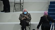 The Best, Funniest Memes About Bernie Sanders' Inauguration Look