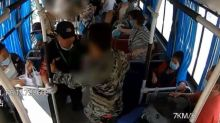 Brave bus inspector fends off knife-wielding passenger in China
