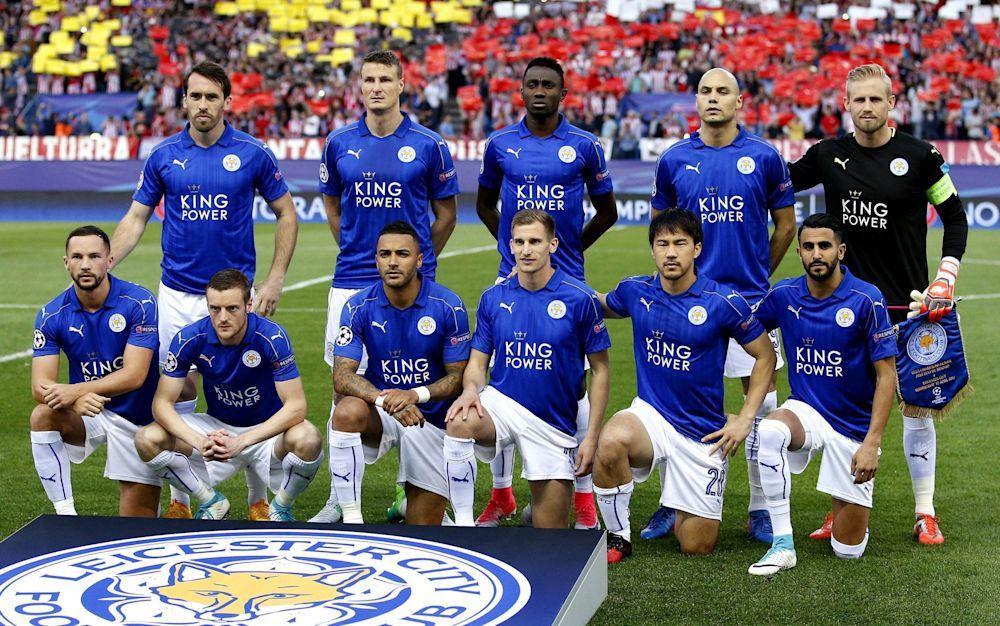 Leicester City are long odds-on to advance - but they still believe - Rex Features