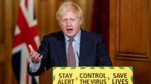 Johnson says China's actions in Hong Kong risk eroding Sino-UK agreement