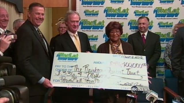 Grandma Claims Rhode Island Lotto Jackpot