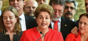 New president vows to heal Brazil as Rousseff sacked
