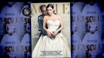 Kim and Kanye Land Coveted Cover of Vogue Magazine