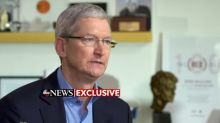 Amid reports that Apple is developing harder-to-hack phones, Tim Cook speaks out