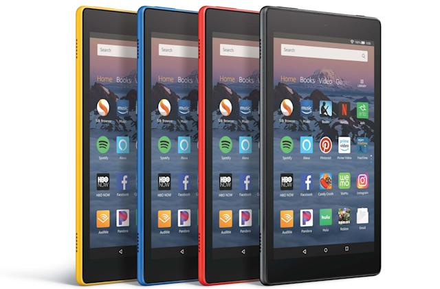 Amazon's newest Fire HD 8 tablet offers always-on Alexa