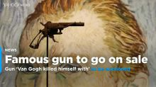 Gun 'Van Gogh killed himself with' to be auctioned