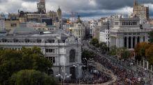 Miles de ovejas toman el centro de Madrid en la Fiesta de la Trashumancia