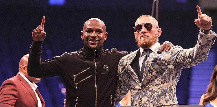 Floyd Mayweather Reveals He 'Carried Conor McGregor,' Rips Oscar De La Hoya