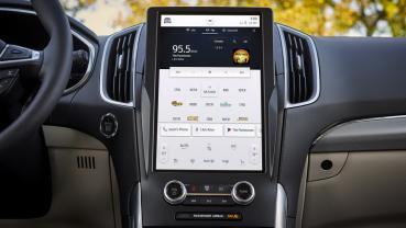 2021 Ford Edge將搭載12吋中控台觸控螢幕 並內建最新SYNC 4A娛樂通訊整合系統