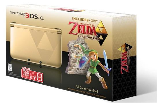 Yes, of course Nintendo is releasing its Zelda-themed 3DS XL in the US as well