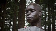 Bust of Black hero of Lewis & Clark trip goes up in Portland