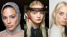 Bejewelled Diamanté Freckles Are The AW19 Way To Get Your Bling On