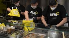 Shuttered restaurants dish out for Spain's health workers