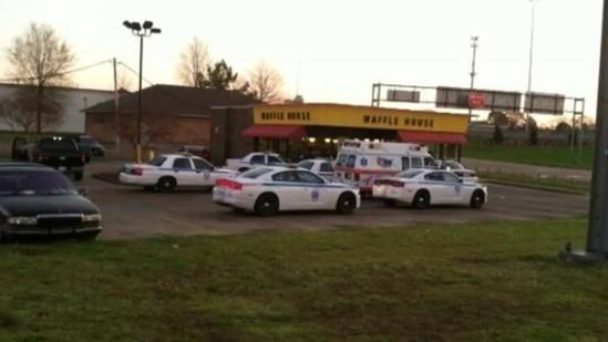 Officer attacked with coffee pot