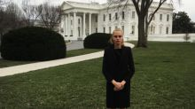 Cara Delevingne Takes the White House in Sneakers