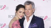 Katharine McPhee and David Foster get married in an intimate London church ceremony