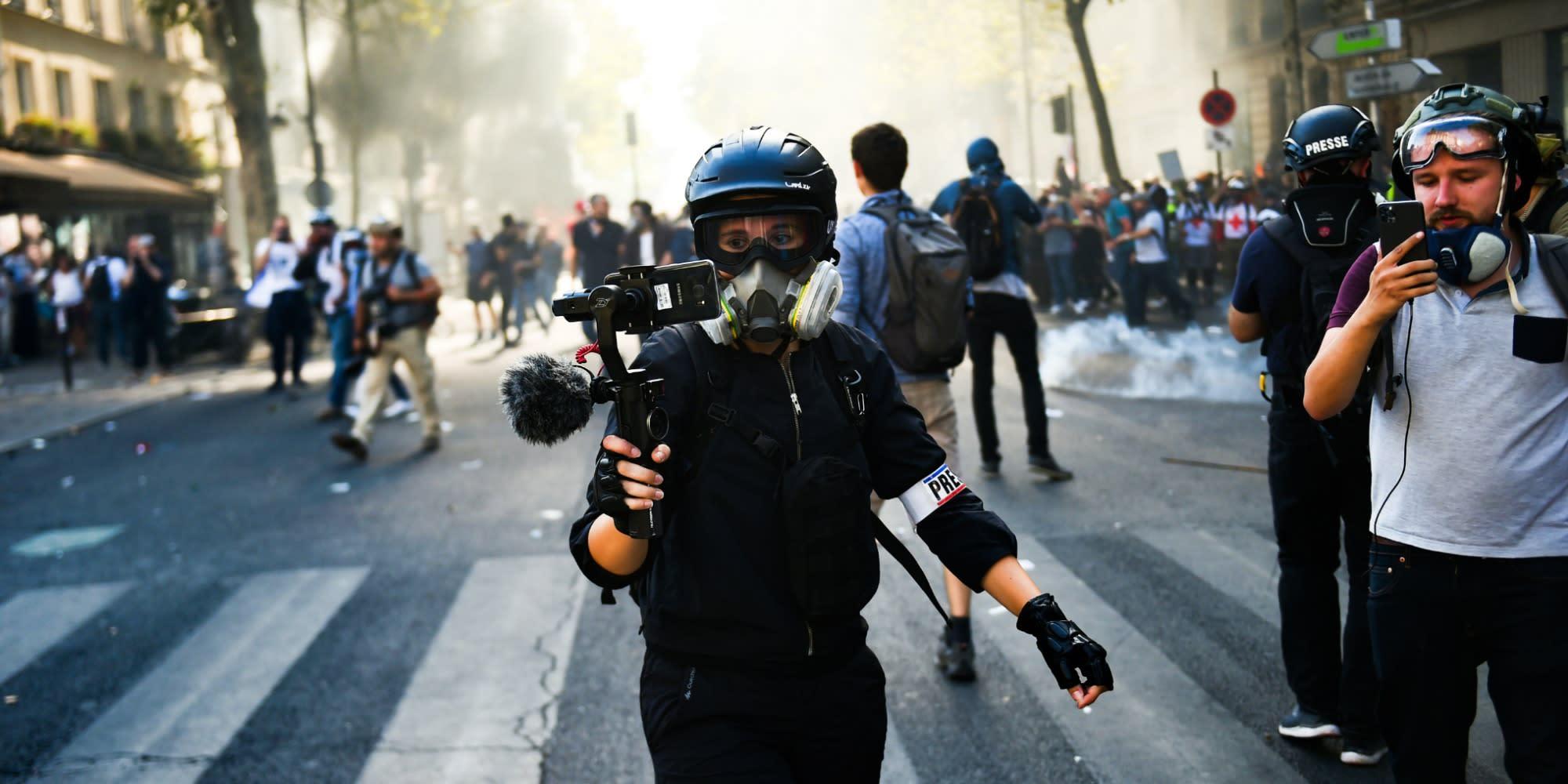 INFO EUROPE 1 - Sécurité globale : les Français plutôt favorables à l'article 24, selon un sondage commandé par Matignon