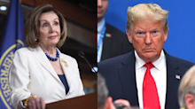 Nancy Pelosi responds to President Trump's tweet: 'A master at projection'
