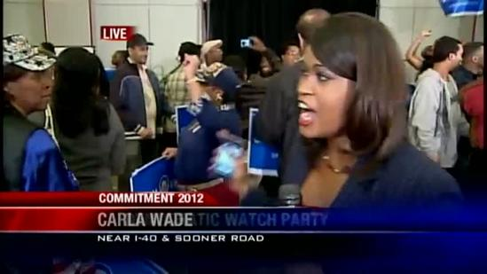 Watch party turns to dance party as Obama re-elected