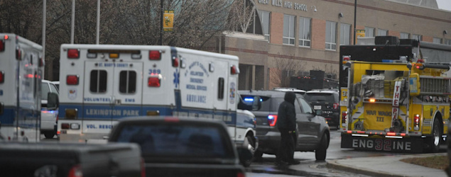 Maryland school shooting: Two students injured and shooter dead after gun attack. (The Independent)