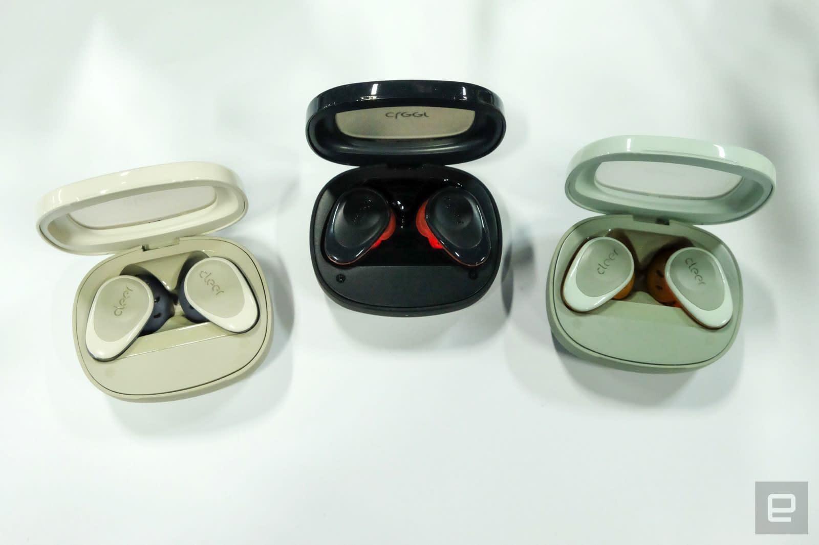 Cleer Goal true wireless earbuds