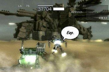 More Armored Core: for Answer screens show off  colossal-sized enemies