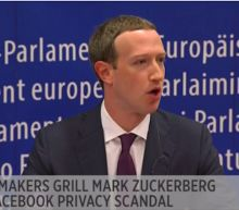 EU lawmakers to Facebook's Zuckerberg: 'We have a big problem here'