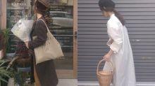 即使嬌小又如何?這位身高只有 5 呎多的日本女生,單靠長身衣物便能搭配簡約舒適形象
