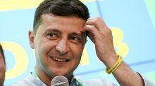 Ukraine: Prowestlicher Selenskyj gewinnt absolute Mehrheit