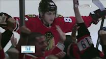 Patrick Kane picks his moment to score
