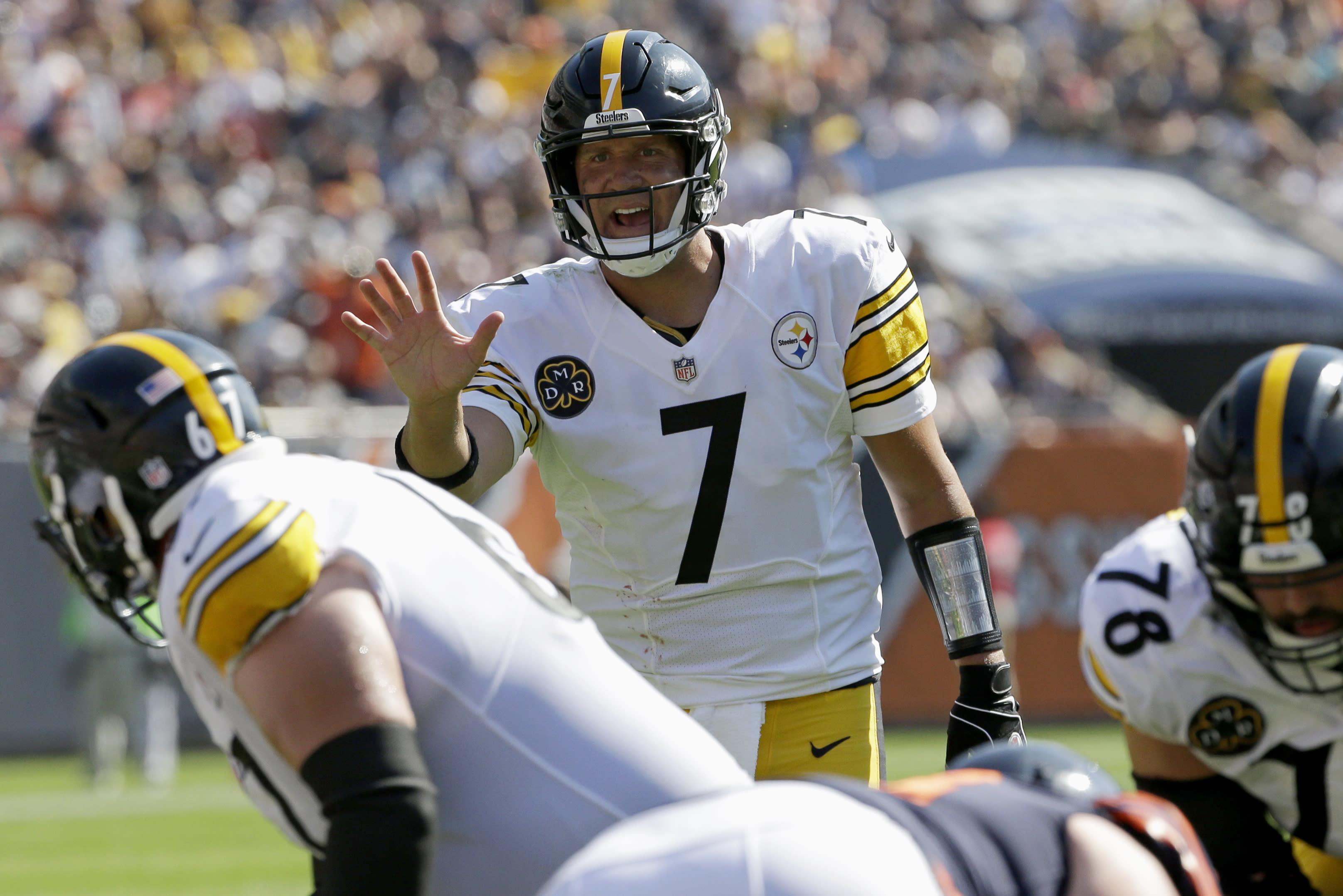 Week 4 fantasy quarterback rankings: Tough to start Big Ben