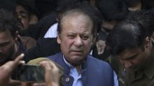 Pakistani court issues arrest warrant for former PM Sharif
