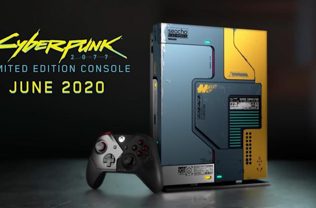 'Cyberpunk 2077' Xbox One X will arrive ahead of the game in June