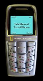 National Geographic's Talk Abroad global phone
