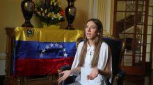 """""""El retorno a casa comenzó"""", dice la esposa de Guaidó a los venezolanos en Perú"""