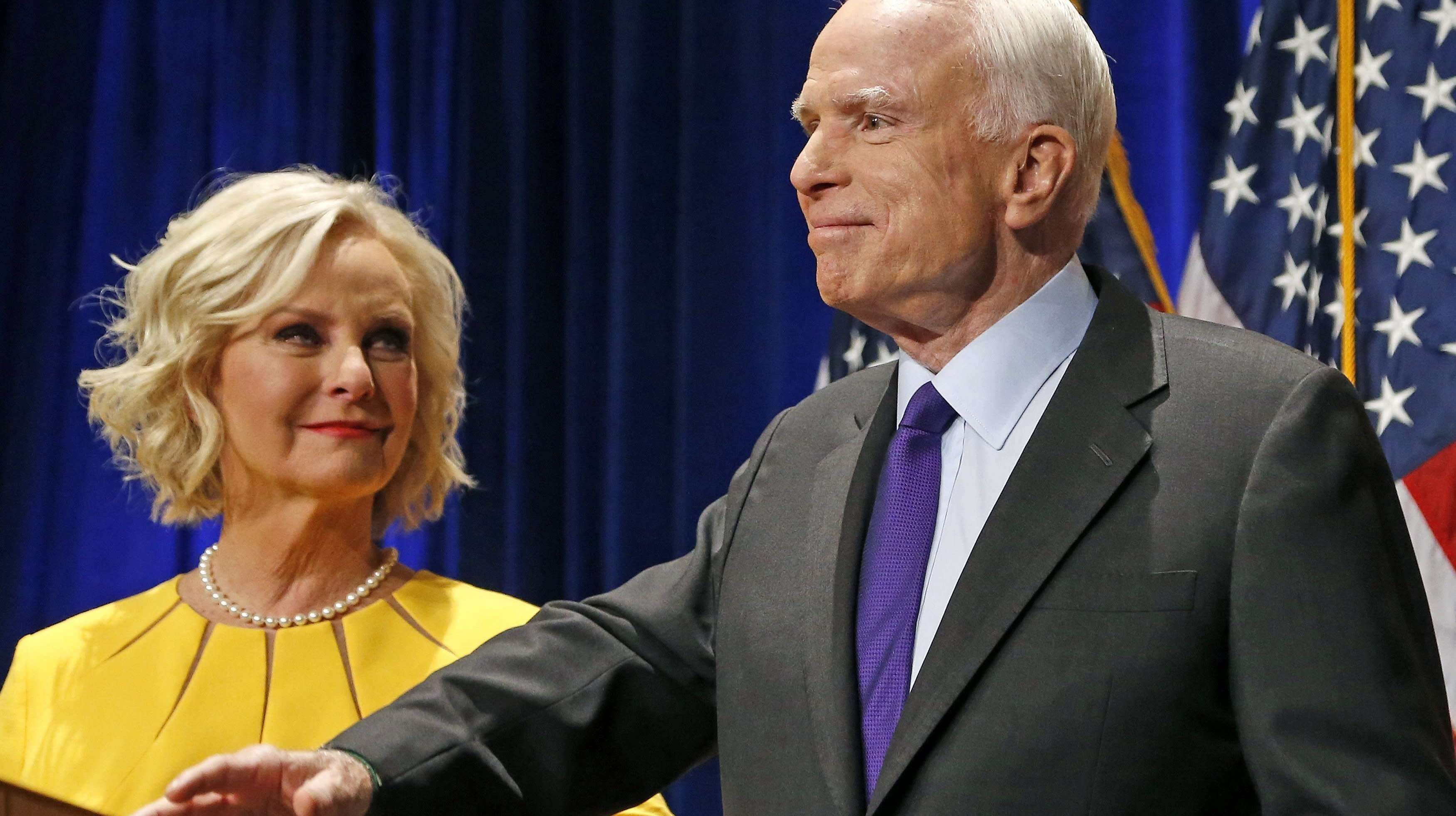 Cindy McCain Hopes Trump Learns From The Midterms