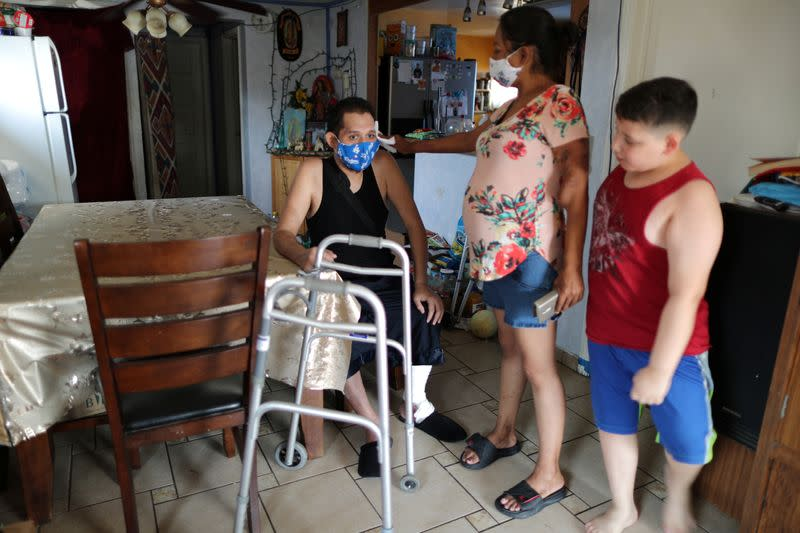'My life is a miracle': COVID-19 patient recuperates after ...