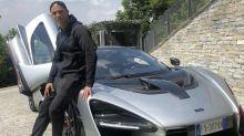 Cristiano Ronaldo pose avec son nouveau bolide… à 930 000€ !