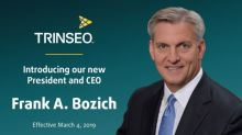 Frank A. Bozich Named President and CEO of Trinseo