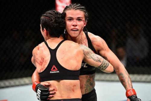 Clássico entre brasileiras ganha bônus de luta da noite no UFC Japão