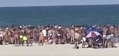 Some groups on New York's Fire Island ignored social distancing guidelines over the July Fourth weekend. (CBS News)