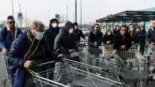 Italy towns wake to quarantine, queue for food in coronavirus outbreak
