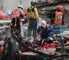 Rain was 'most wonderful feeling' on Mexico quake survivor's face