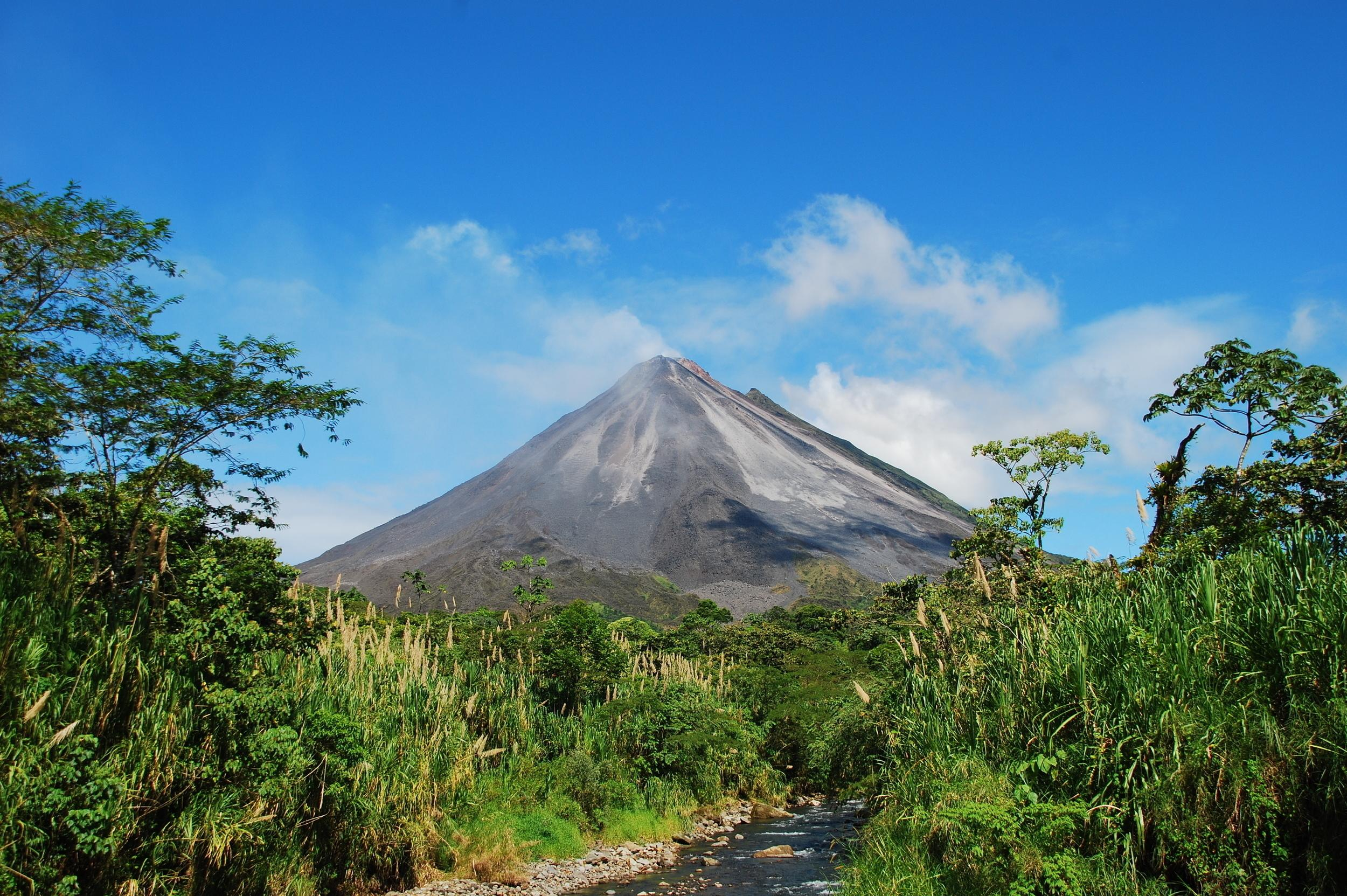 """<p>While you can only marvel at the Arenal Volcano from afar, this remarkable site is a must-see for everyone - from adventure seekers to spa lovers. At the29,692-acre Arenal Volcano National Park, you can hike the area, relax in a hot spring and spot howler monkeys, parrots and tapir.<br /> <br /> <strong>Try:</strong> Hayes & Jarvis' <a href=""""http://www.hayesandjarvis.co.uk/holidays/costa-rica/tours/arenalvolcanoandmonteverdecloudforest"""" target=""""_blank"""">Arenal Volcano and Monteverde Cloud Forest</a> tour</p>"""
