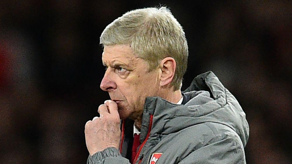 """Arsenal-Fans beleuchten Stadion mit """"Wenger Raus""""-Schriftzug"""