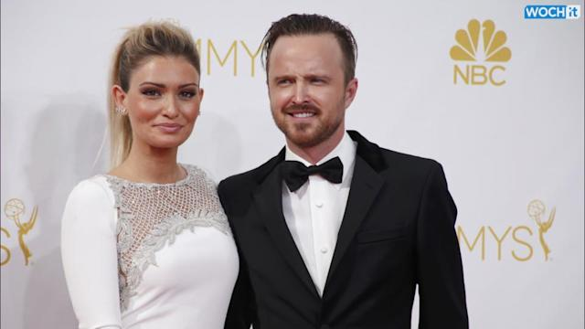Aaron Paul's Acceptance Speech At The Emmys Causes Wife's