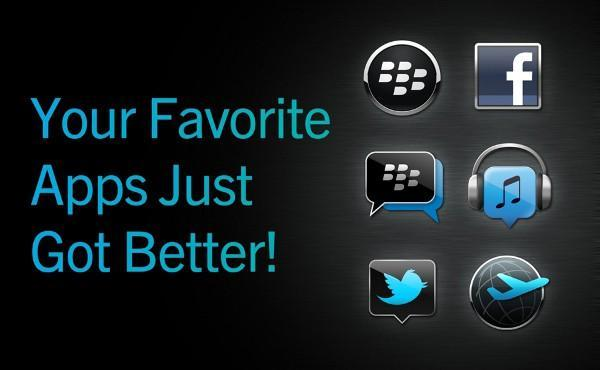 Twitter and Facebook for BlackBerry get BBM connected, BBM gets some animated avatars