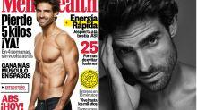 Juan Betancourt presume de 'six pack' en la portada de Men's Health